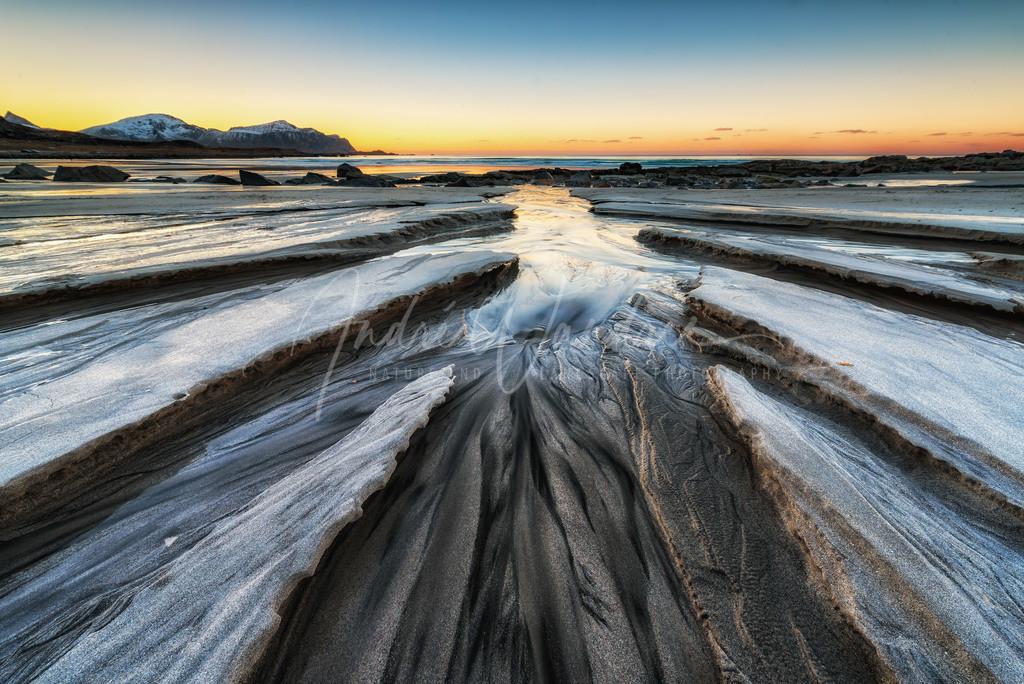 Zacken aus Sand