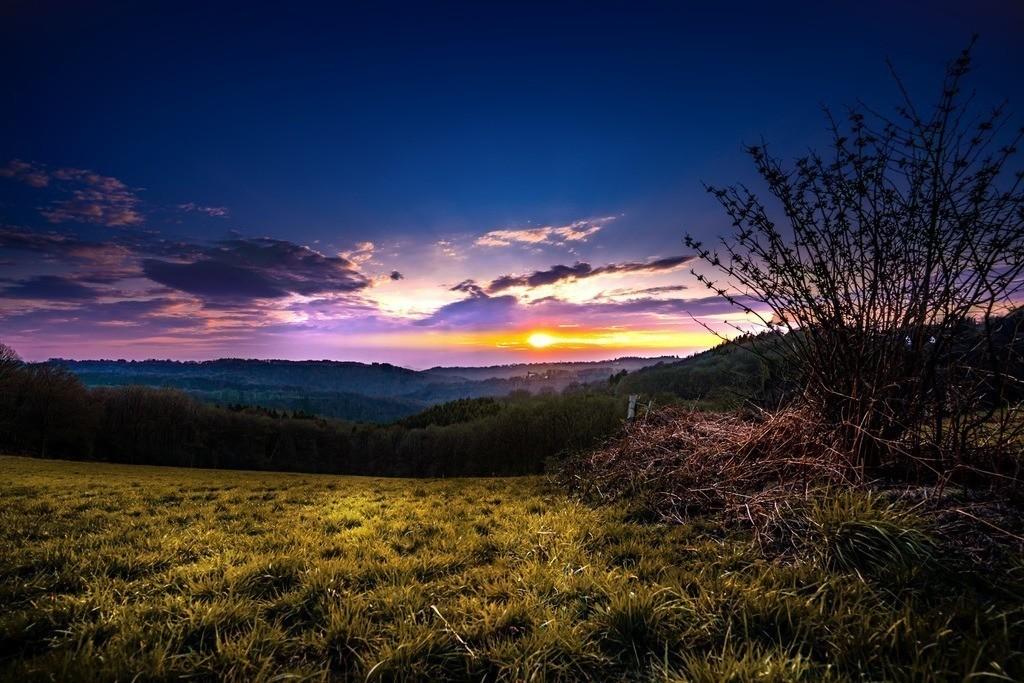 Sonnenuntergang Solingen / Pfaffenberg