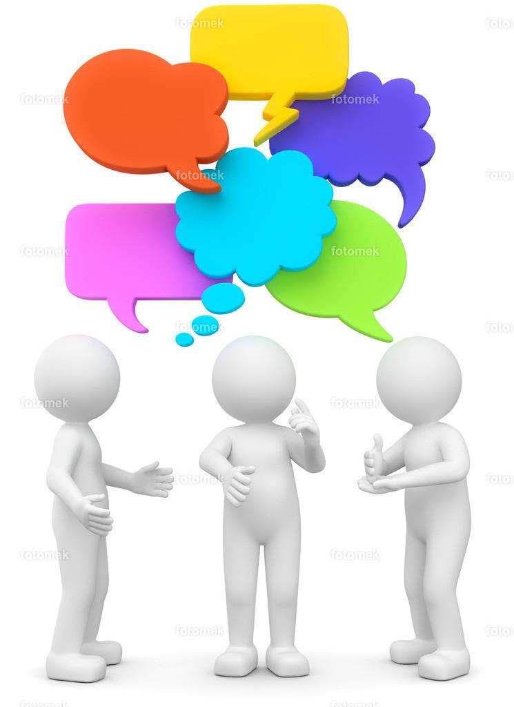 3d Männchen Disskusion - Streit - Gespräche