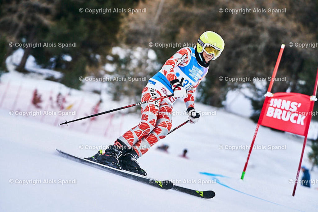 ALS5564_WWMG_GS-II_C | (C) FotoLois.com, Alois Spandl, WinterWorldMastersGames 2020 Innsbruck, Giant Slalom-II Gruppe C Damen, Patscherkofel Olympiaabfahrt, Mi 15. Jänner 2020.