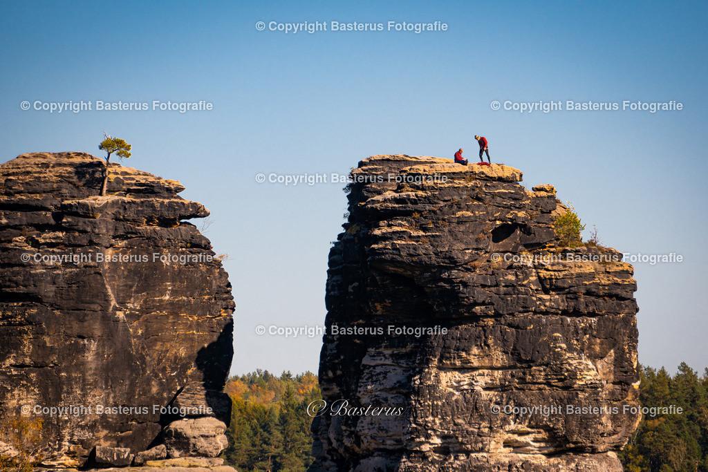Bergsteiger Bastei