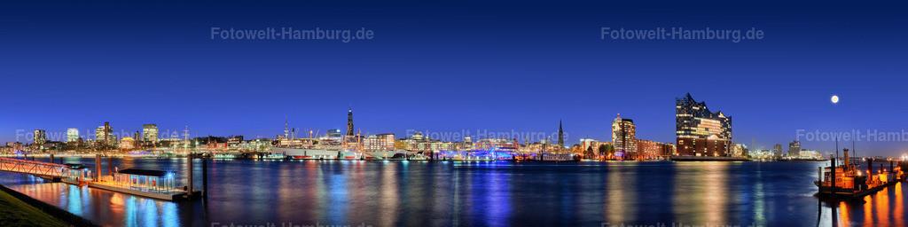 11980317 - Hamburg Skyline bei Nacht