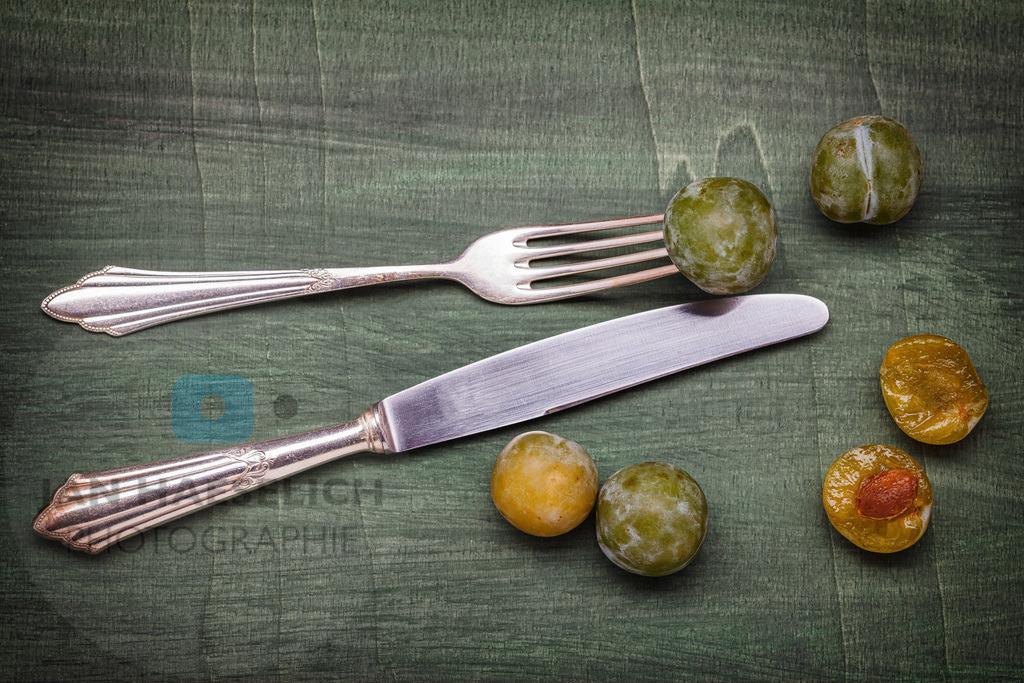 Familiensilber - Messer und Gabel | Messer und Gabel mit Renekloden