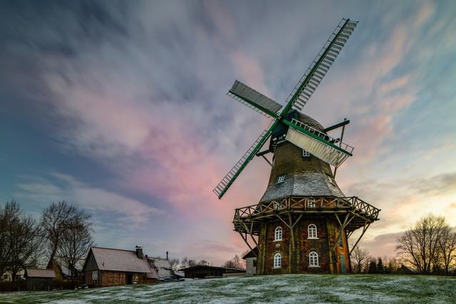 Windmühle Midlum | max. Größe bei 200dpi = 100x70cm
