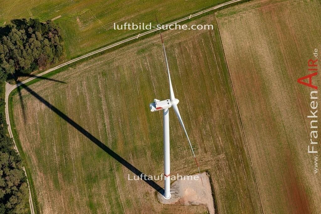 windrad-taschendorf-19-818 | aktuelles Luftbild von Windrad  Taschendorf - Luftaufnahme wurde 2019 von https://frankenair.de mittels Flugzeug (keine Drohne) erstellt.