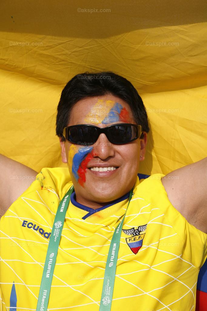 Ecuador-Mann