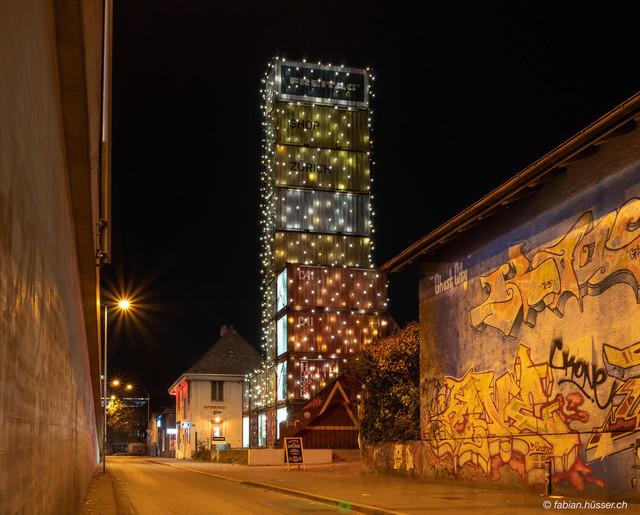 Freitag bag tower | Freitag bag tower