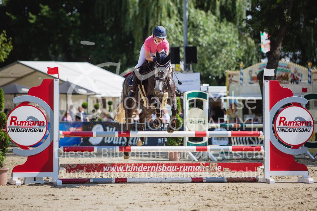 200819_Delbrück_Sprpf-A_2_1-259 | Delbrück Masters 2020 Springpferdeprüfung Kl. A** 4-6jährige Pferde