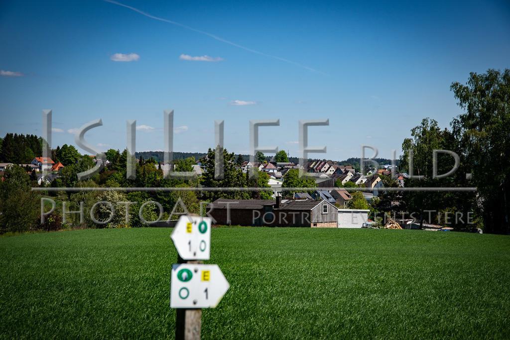 Röslau - Mittelpunkt des Fichtelgebirges | Blick auf die Thusmühle