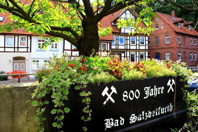 Erinnerungsstück | Lore aus dem Bergbau in der Altstadt von Bad Salzdetfurth
