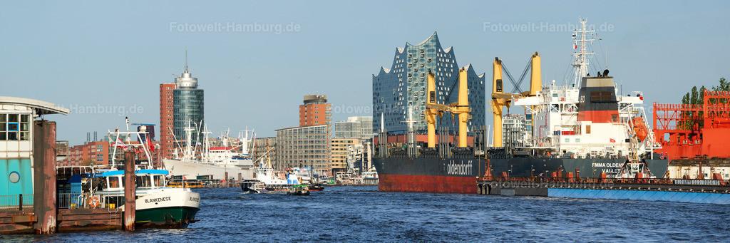 11987222 - Elbphilharmonie und Frachtschiff Emma Oldendorff