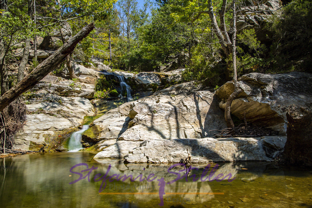 Die Wasserfälle von Maries
