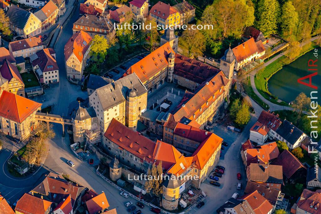 schloss-thurnau-18-221 | aktuelles Luftbild von Schloss Thurnau - Luftaufnahme wurde 2018 von https://frankenair.de mittels Flugzeug (keine Drohne) erstellt.