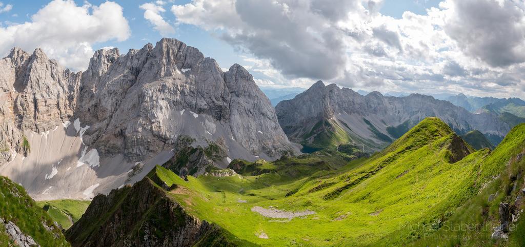 Berglandschaft im Lesachtal | Bergkette in Kärnten in der Nähe vom Wolayersee