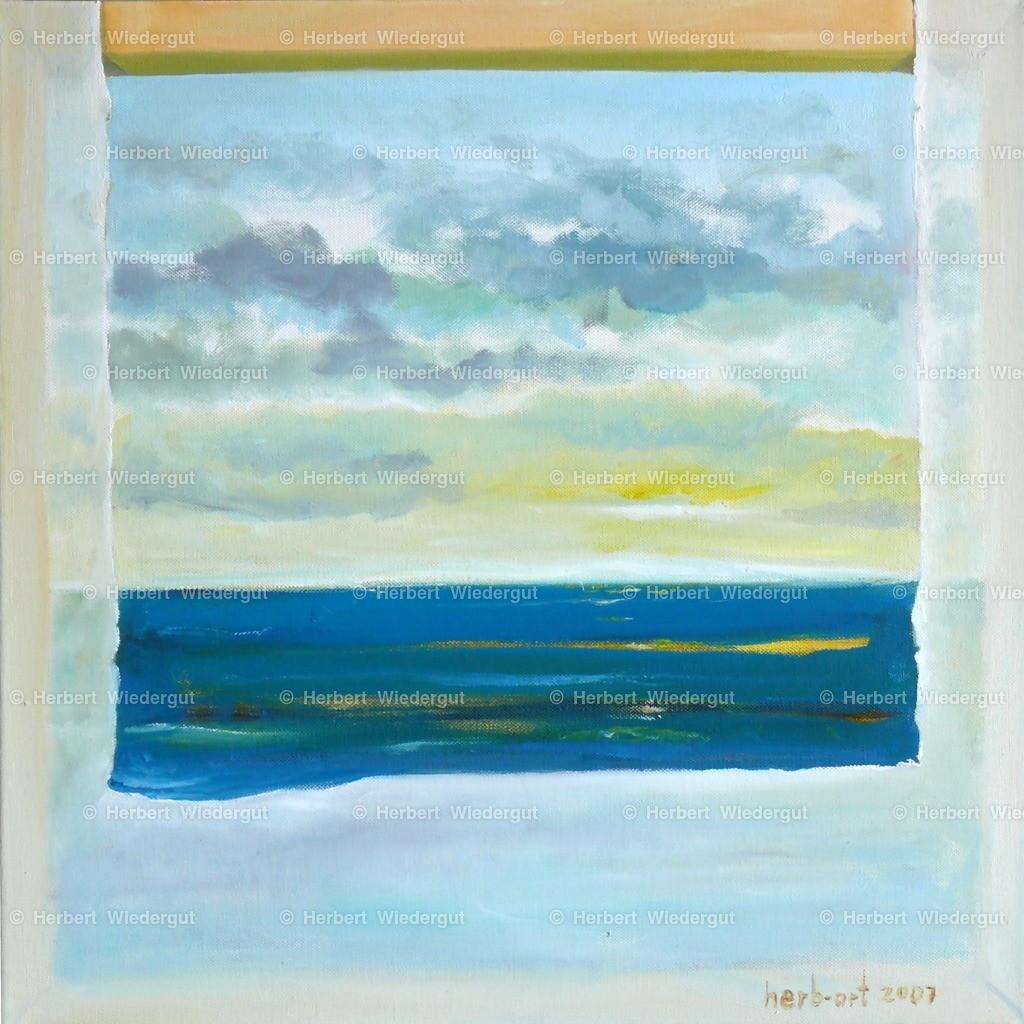 sunrise | Ölgemälde von herb-art, Dr. Herbert Wiedergut