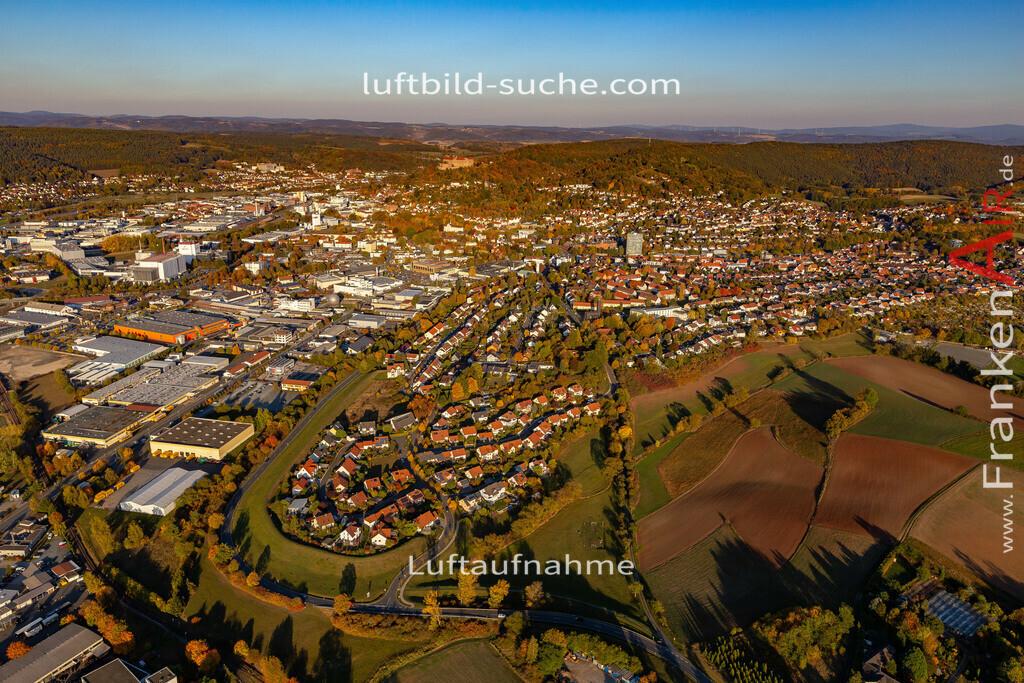 kulmbach-18-2776 | aktuelles Luftbild von  Kulmbach - Luftaufnahme wurde 2018 von https://frankenair.de mittels Flugzeug (keine Drohne) erstellt.