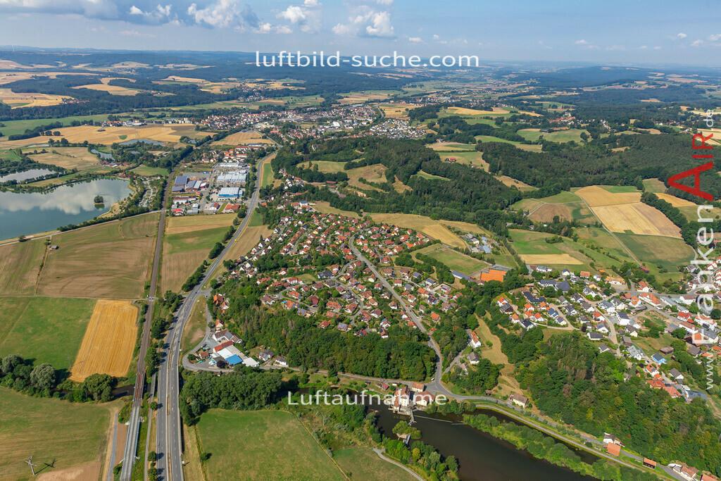 burghaig-19-537   aktuelles Luftbild von Burghaig   - Luftaufnahme wurde 2019 von https://frankenair.de mittels Flugzeug (keine Drohne) erstellt.
