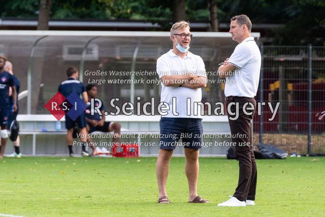 Fußball, Herren, Testspiel, Hamburger SV - FC Midtjylland, HSV-Trainingsplatz am Volksparkstadion, 20.08.2020