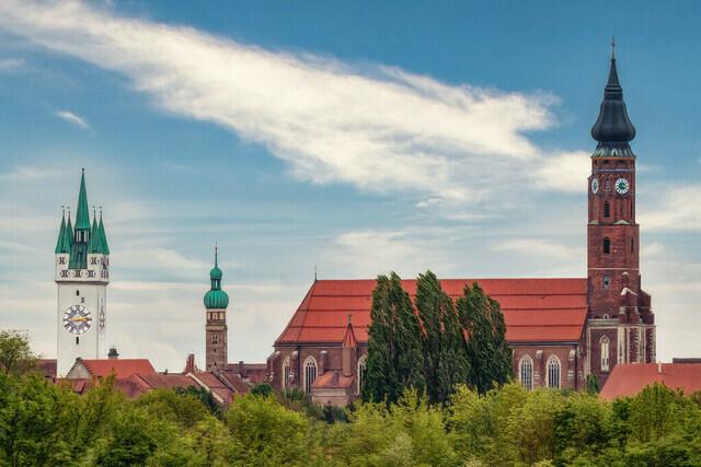 Straubing Skyline