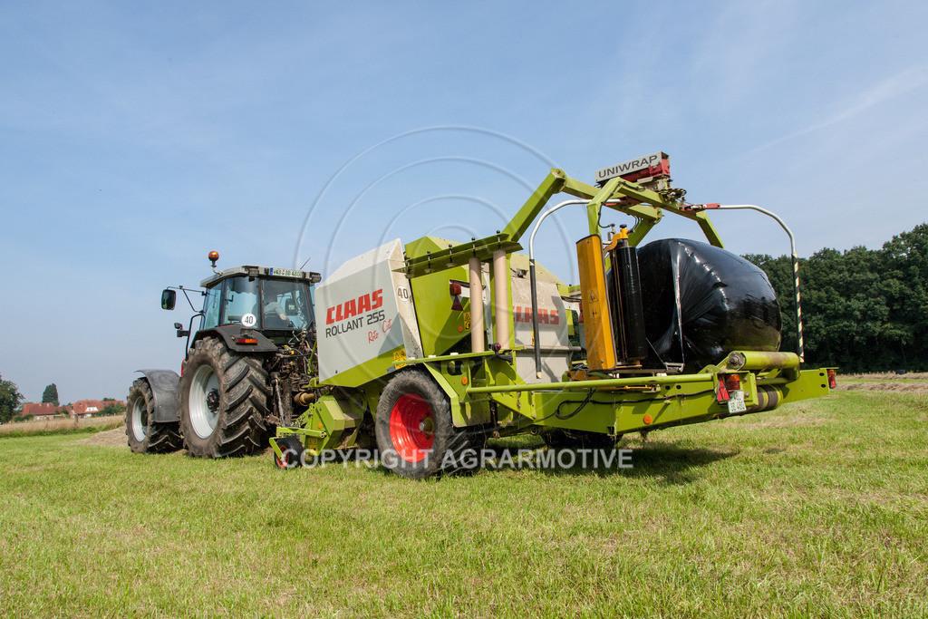 IMG_7860_080108_105254 | Rundballenpresse mit Wickler für Grassilage - AGRARMOTIVE