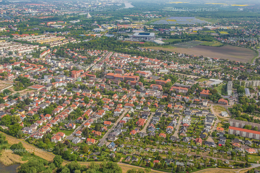 Luftbild Magdeburg Cracau-2029