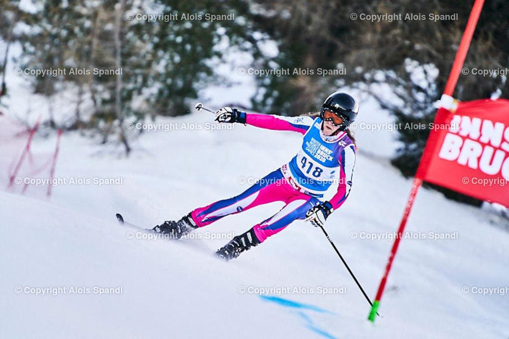 ALS5779_WWMG_GS-II_C | (C) FotoLois.com, Alois Spandl, WinterWorldMastersGames 2020 Innsbruck, Giant Slalom-II Gruppe C Damen, Patscherkofel Olympiaabfahrt, Mi 15. Jänner 2020.