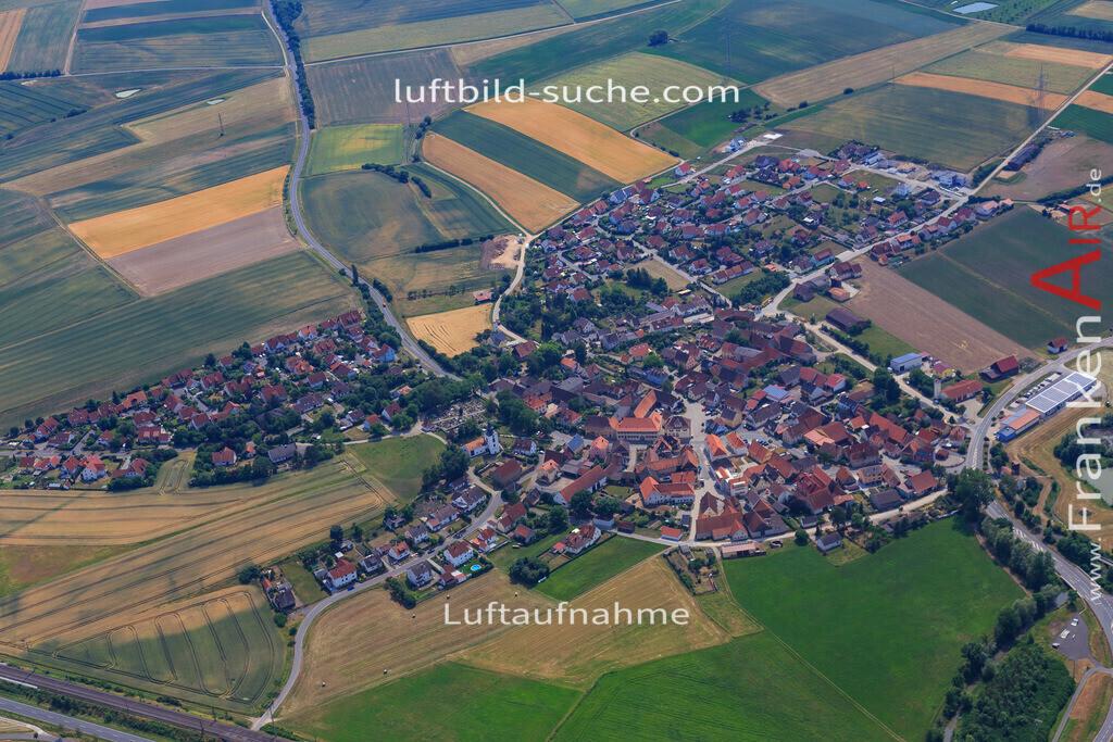 luftbild-langenfeld-17-1158 | Luftbild von  Langenfeld - Luftaufnahme wurde 2017 von https://frankenair.de mittels Flugzeug (keine Drohne) erstellt - die Geschenkidee