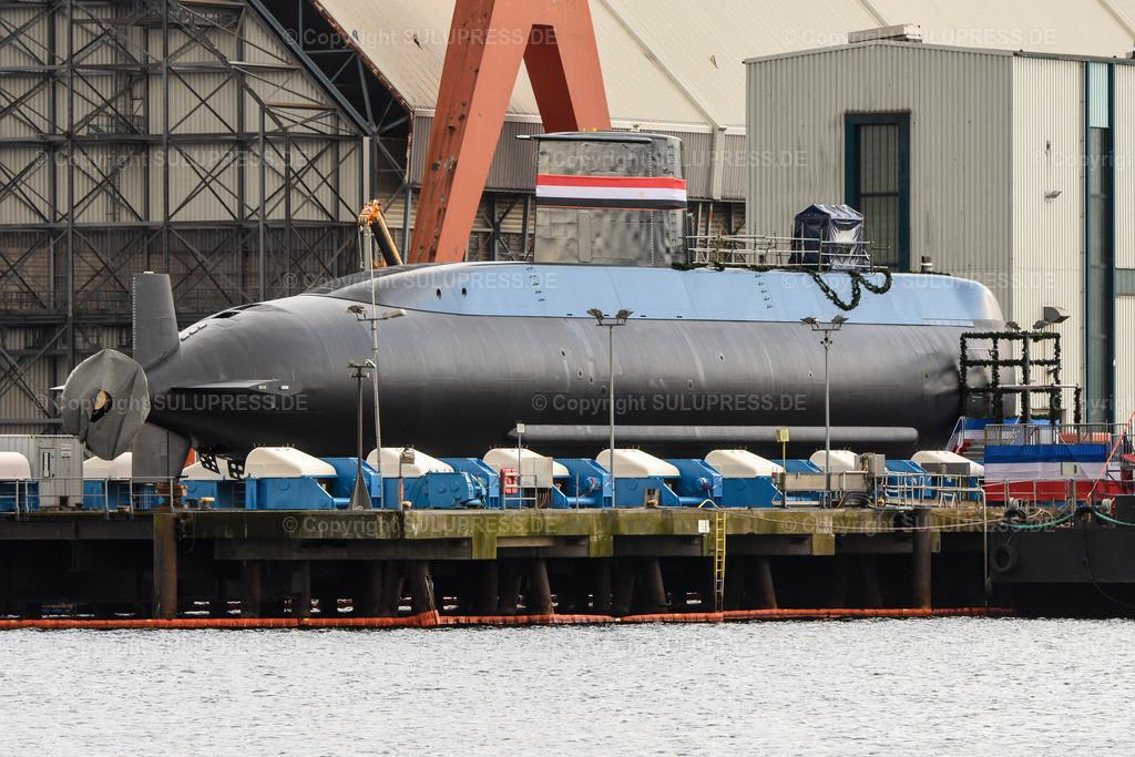 Ägyptisches U-Boot Typ 209/1400mod S 43   Ägyptisches U-Boot