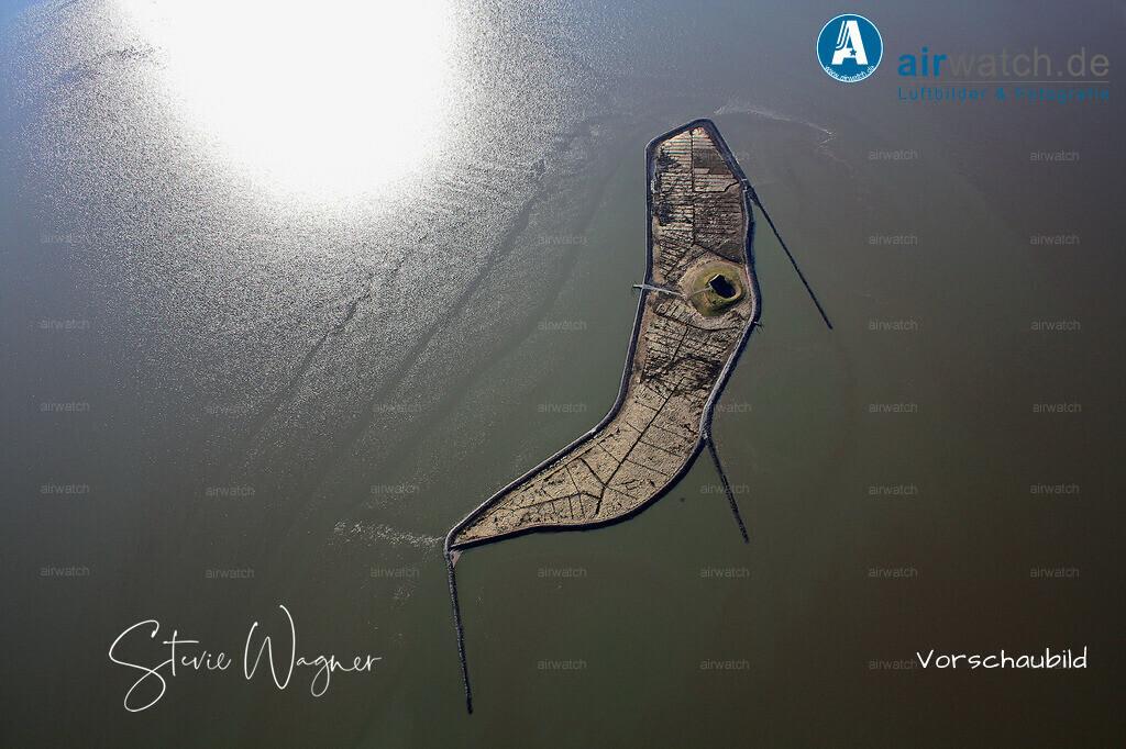 Luftbild Hallig Habel - Natur erleben im Wattenmeer | Nordsee, Hallig Habel, Luftbild, Luftaufnahme, aerophoto, Luftbildfotografie, Luftbilder • max. 4272 x 2848 pix.