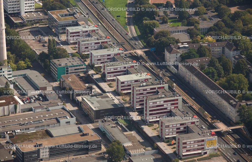 ES10095586 | Luftbild, ETEC Essen an der A40, Technologiezentrum Essen,  Essen, Ruhrgebiet, Nordrhein-Westfalen, Germany, Europa, Foto: hans@blossey.eu, 11.09.2010