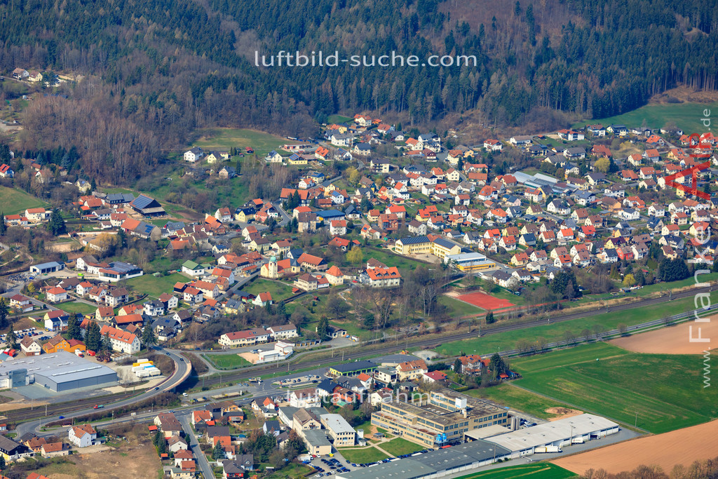 stockheim-19-896 | aktuelles Luftbild von  Stockheim  - Luftaufnahme wurde 2019 von https://frankenair.de mittels Flugzeug (keine Drohne) erstellt.