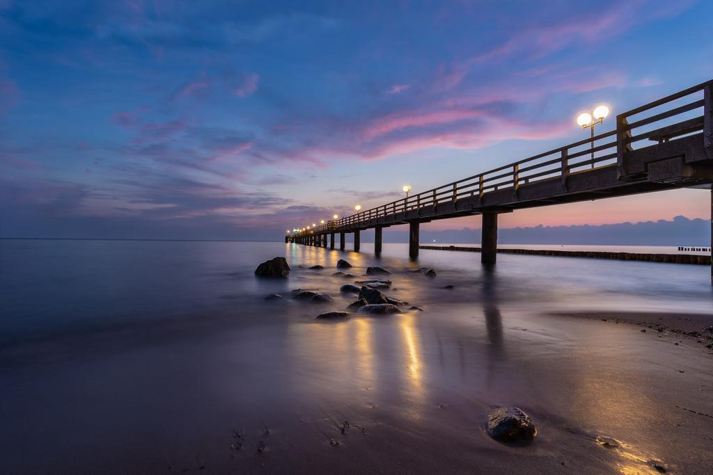 Sunrise an der Seebrücke 1