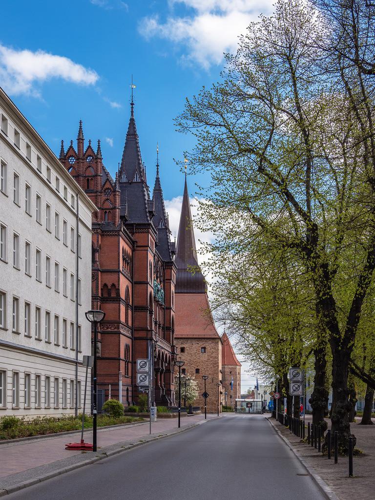 Ständehaus und Steintor in der Hansestadt Rostock | Ständehaus und Steintor in der Hansestadt Rostock.