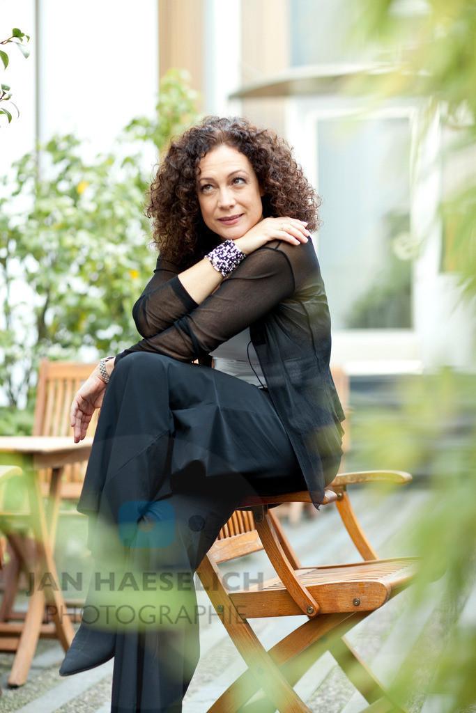 Barbara Wussow   Fototermin in Hamburg am 30.09.09 zum ARD Fernsehfilm