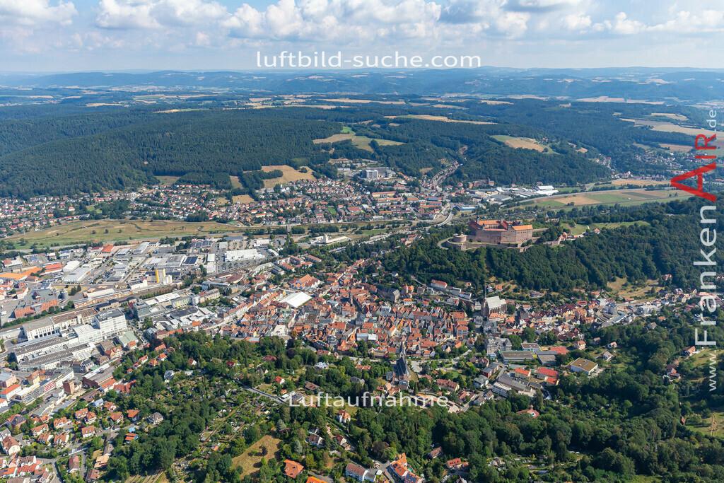 altstadt-kulmbach-19-674 | aktuelles Luftbild von Altstadt  Kulmbach - Luftaufnahme wurde 2019 von https://frankenair.de mittels Flugzeug (keine Drohne) erstellt.