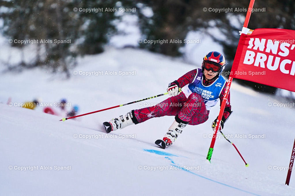 ALS5977_WWMG_GS-II_C | (C) FotoLois.com, Alois Spandl, WinterWorldMastersGames 2020 Innsbruck, Giant Slalom-II Gruppe C Damen, Patscherkofel Olympiaabfahrt, Mi 15. Jänner 2020.