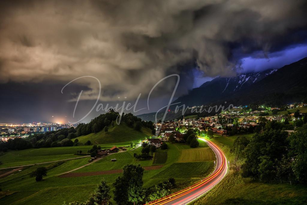 Unwetter über Innsbruck | Unwetter über Arzl und Innsbruck