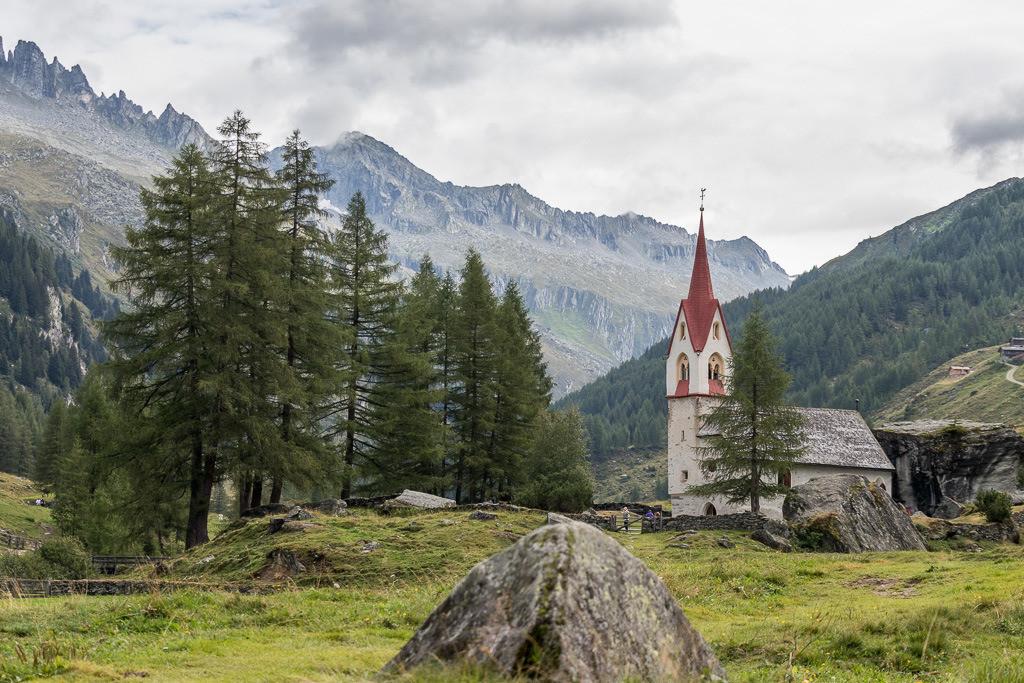 Heilig-Geist-Kirche im Ahrntal (Südtirol)