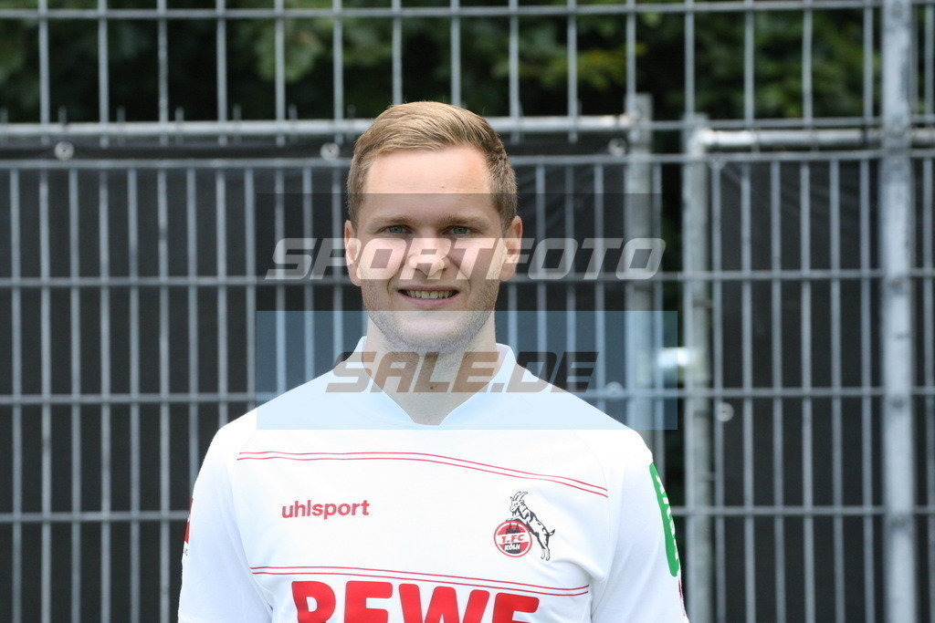 1. FC Köln Fotoshooting | Benno Schmitz - © Sportfoto-Sale (MK)
