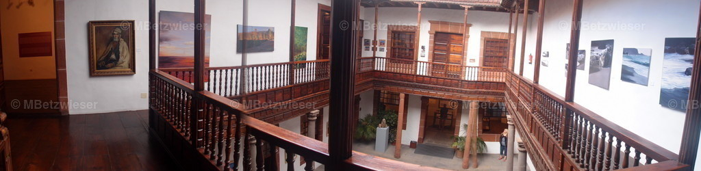 P1319889 | Innenhof der Casa Salazar in Santa Cruz de La Palma