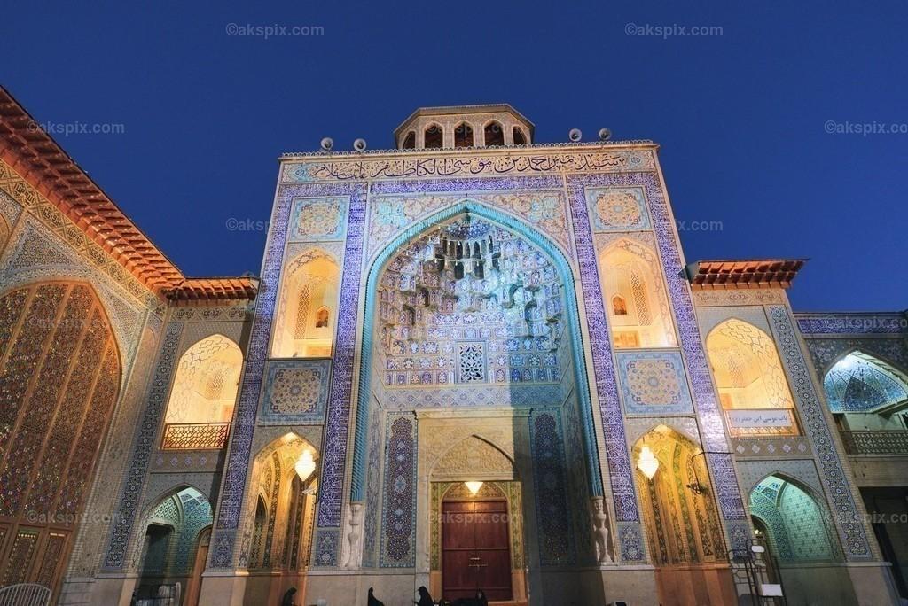 In Shiraz - Schah Tscheragh - Mausoleum | Schah Tscheragh (حرم مطهر احمد بن موسی(ع))