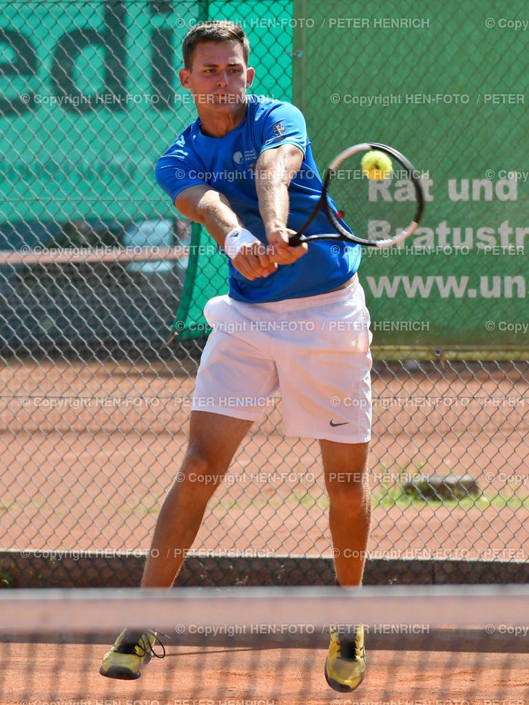 Tennis Herren 6er Gruppenliga TUS Griesheim - Eintracht Frankfurt copyright by HEN-FOTO   Tennis Herren 6er Gruppenliga TUS Griesheim - Eintracht Frankfurt Mi Jan David Kern (TUS) copyright by HEN-FOTO / Foto: Peter Henrich