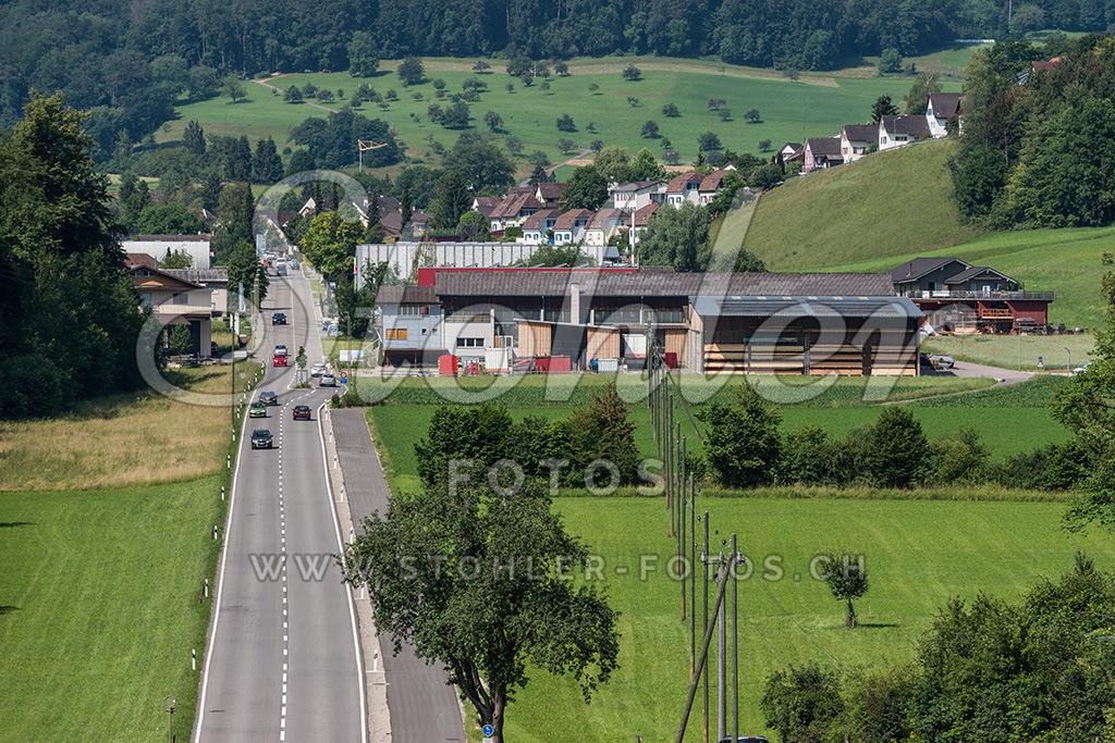 Dorf Ziefen (BL) | Dorf Ziefen Ostansicht, von der Beuggen aus gesehen, Ziefen im Kanton Baselland.