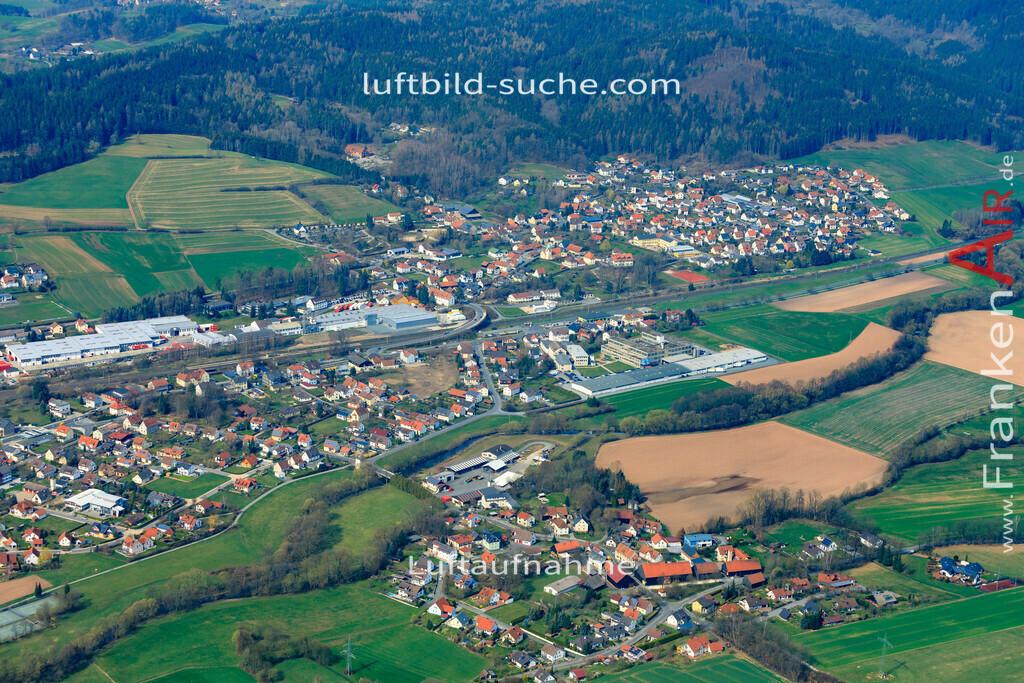 stockheim-19-894 | aktuelles Luftbild von  Stockheim  - Luftaufnahme wurde 2019 von https://frankenair.de mittels Flugzeug (keine Drohne) erstellt.