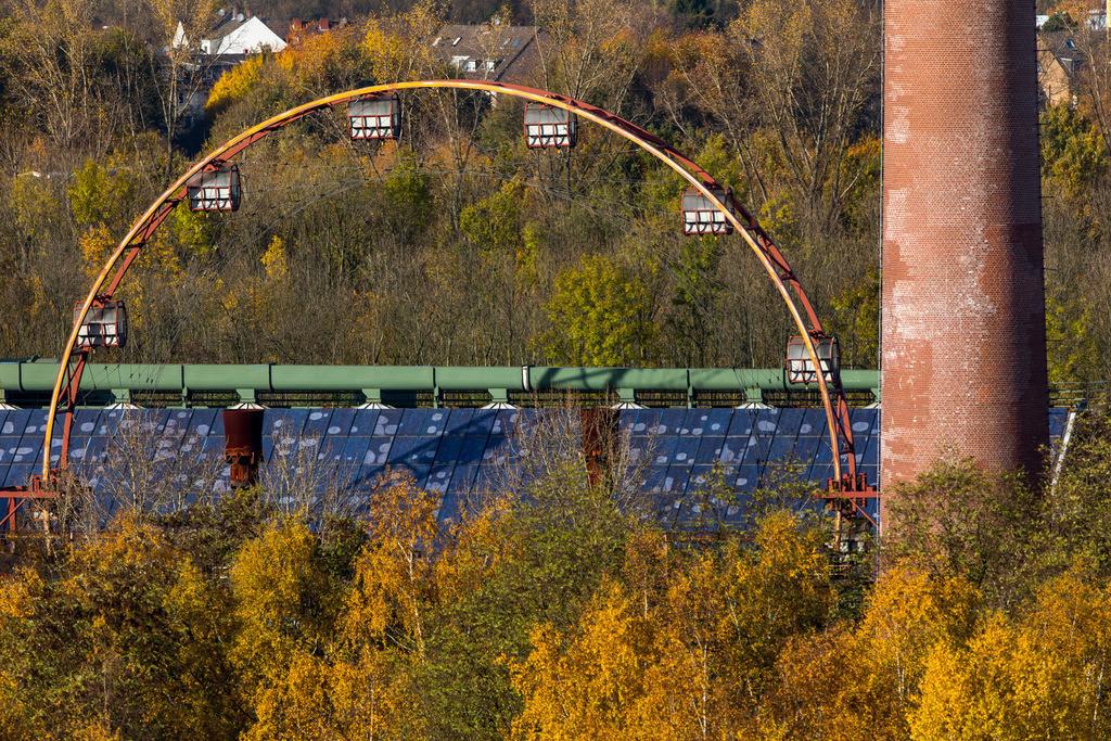 JT-171117-075 | Essen, UNESCO Welterbe Zeche Zollverein, Kokerei Zollverein, Sonnenrad, Solardach,