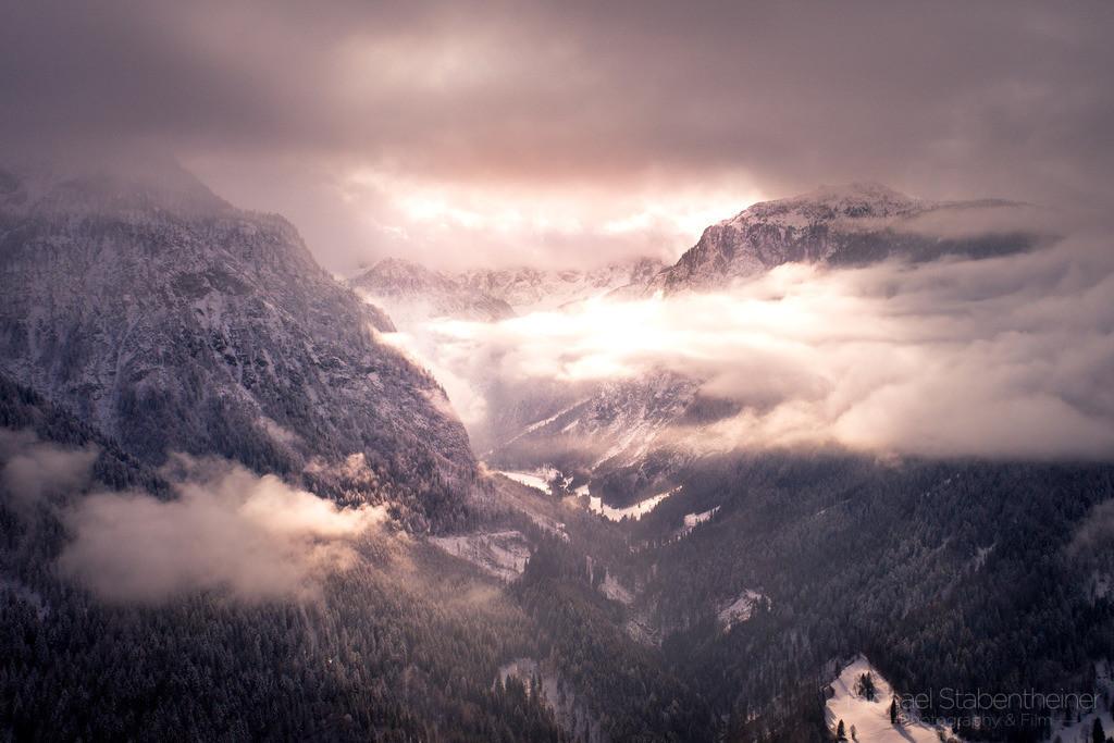 Winterstimmung | Wolkenstimmung im Lesachtal