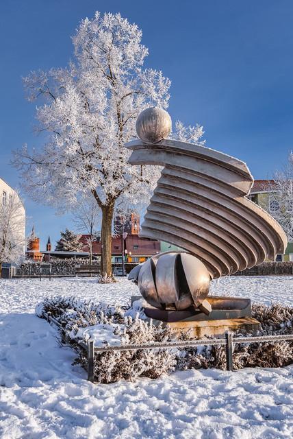 Prenzlau winterlich | Ansicht aus Prenzlau