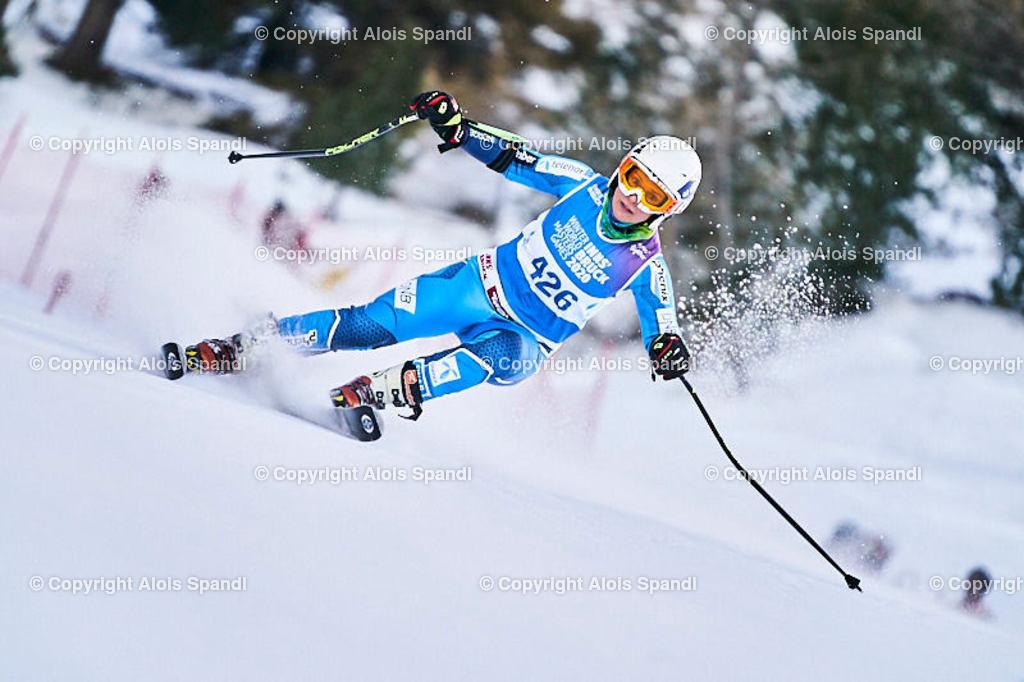 ALS5813_WWMG_GS-II_C | (C) FotoLois.com, Alois Spandl, WinterWorldMastersGames 2020 Innsbruck, Giant Slalom-II Gruppe C Damen, Patscherkofel Olympiaabfahrt, Mi 15. Jänner 2020.