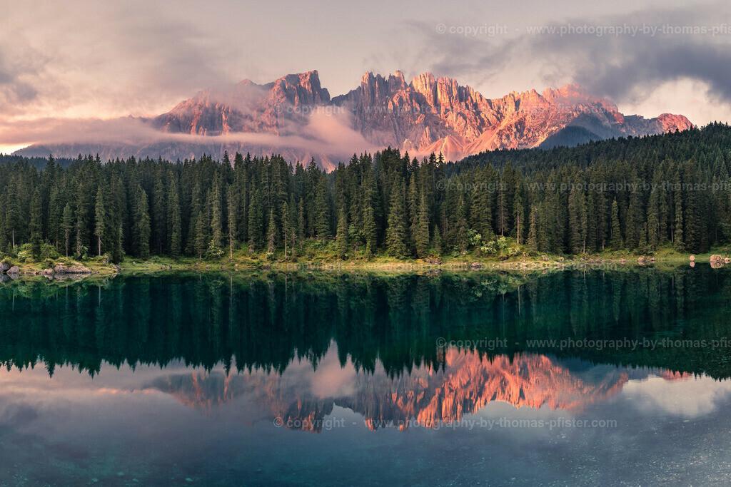 Karrersee Dolomiten Südtirol-2