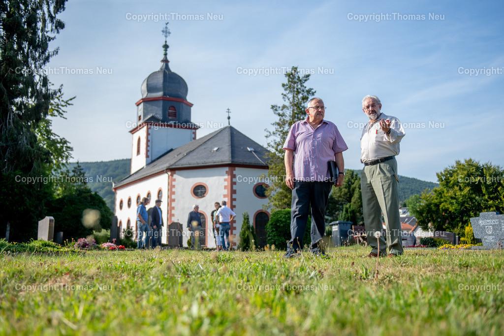 DSC_3205   Lautertal, Friedhof, Reichenbach, CDU Ortsbegehung, ,, Bild: Thomas Neu